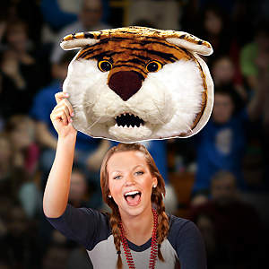 Mike the Tiger Big Head - LSU Cut Out